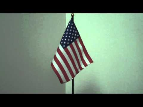 Am. Flag - with long Title: Whose broad stripes and bright stars thru the perilous fight o'er the ra