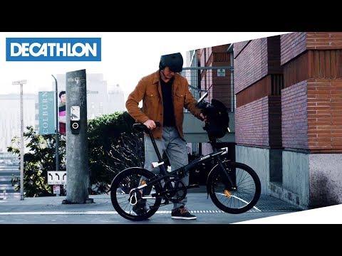 Vai dove vuoi in città con la bici pieghevole TILT | Decathlon Italia