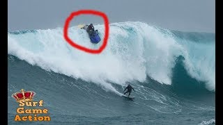 JET SKI CAUGHT INSIDE MASSIVE WAVES