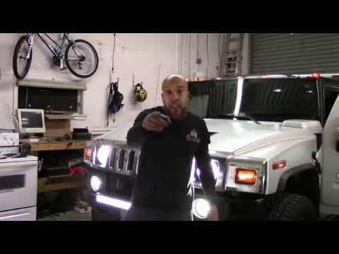 H2 Hummer LED Upgrades Mp3