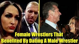 10 Wrestlers That BENEFITED By Dating Another Wrestler!