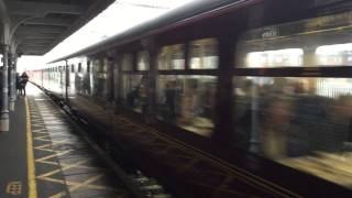 preview picture of video 'Steam Train Mayflower Passing Through Chelmsford Station'