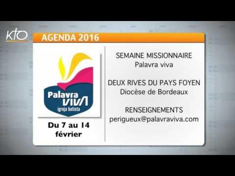Agenda du 1er février 2016