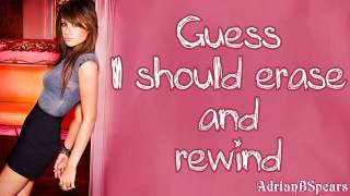Ashley Tisdale - Erase And Rewind Lyrics