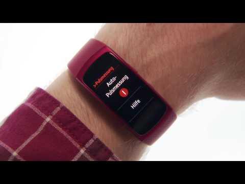 Samsung Gear Fit2: Pulsmesser