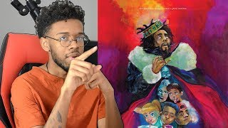 J Cole - KOD First REACTION/REVIEW