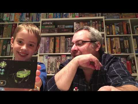 Planet Defenders Board Game Review!...with Justin and Max