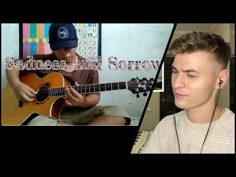 REACTION to Alip Ba Ta - Sadness and Sorrow - Ost Naruto (guitar cover)