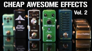 More CHEAP But AWESOME Mini Effects Pedals!