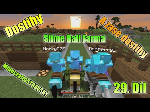 #29 | MinecraftOSTRAVSKY - Dostihy, Slime Ball farma a zase dostihy | NEKONEČNÁ SÉRIE | [FULLHD]