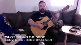 12 String Guitar   Who's Behind The Door   Zebra   Guitar Lesson   Robert Bruce Scott