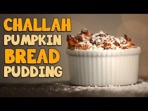 How to Make Challah Pumpkin Bread Pudding