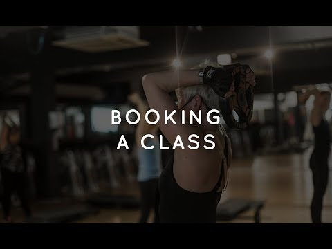 Book a class using The Fitness Mosaic website