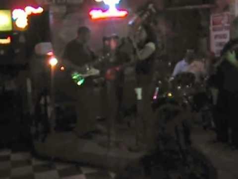 Joan Simons with the Doc Simons Band