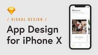 Design A Modern & Trendy Coffee App For IPhone X In Sketch