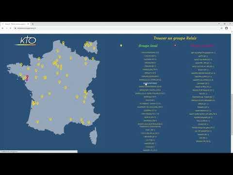 Le site web Relais Lumière Espérance