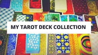 MY TAROT DECK COLLECTION (Overview Of The Tarot Decks I Own)