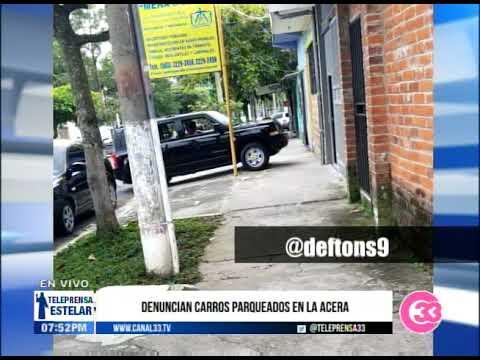 #Teleprensa33 | MARN verifica muerte de aves en centro comercial