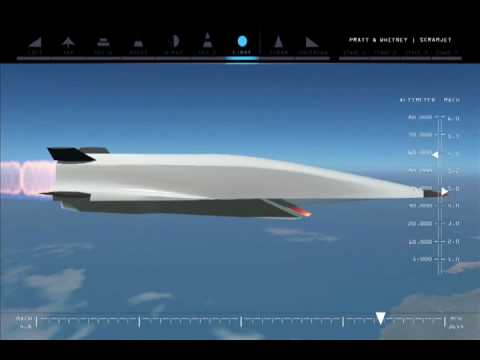 Monster Machines: Mach 6 Scramjet Could Fly From Sydney To Perth In One Hour