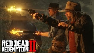Red Dead Online LEAKED GAMEPLAY! RDR2 Multiplayer Is AMAZING (Red Dead Redemption 2)