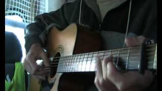 Jim Bruce Blues Guitar - Too Tight Blues - Blind Blake Cover