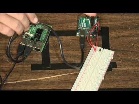 Arduino - Read Serial Communication with Raspberry Pi