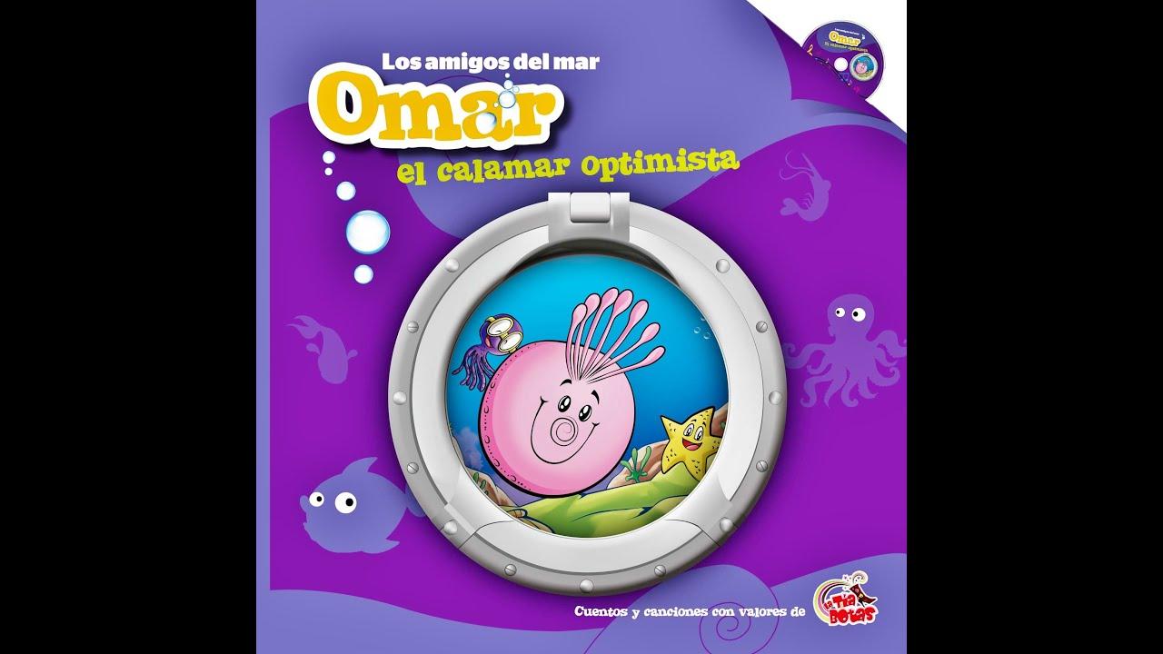 Cuento Omar el calamar optimista