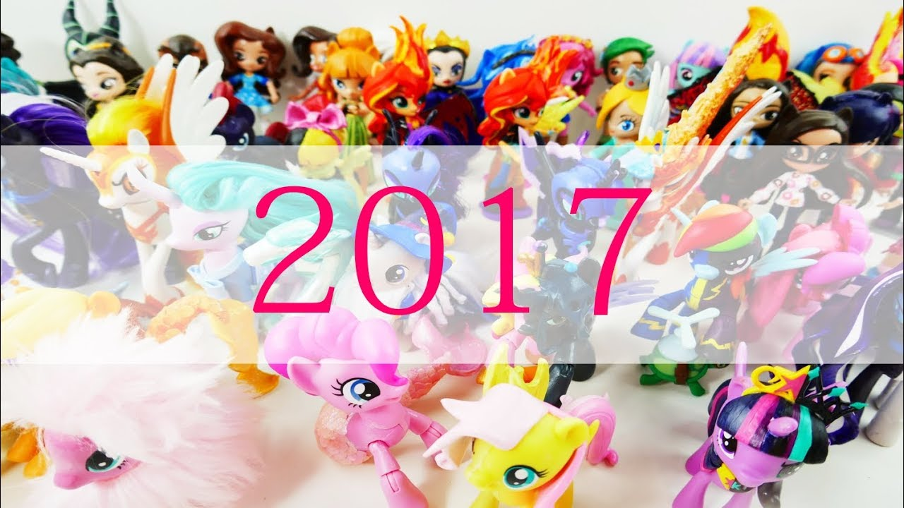 2017 Collection of DIY Custom My Little Pony Dolls and Split Pony Tutorial
