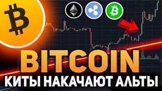 Биткоин Киты Накачают Альткоины! Рост Ethereum, Bitcoin Cash и Ripple Ноябрь 2018 Прогноз