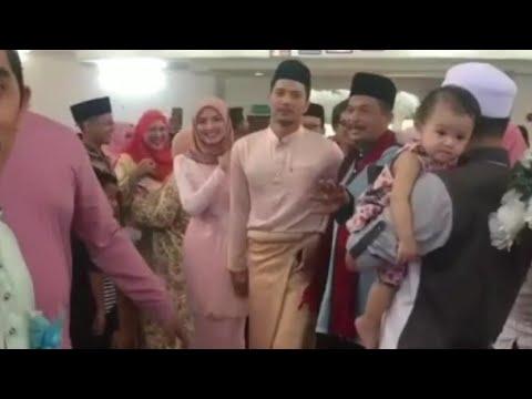 Sweet Pasangan Suami Isteri 'Fattzura' Tiba Dengan Sambutan Yang Meriah Di Hari Perkahwinan Adiknya!