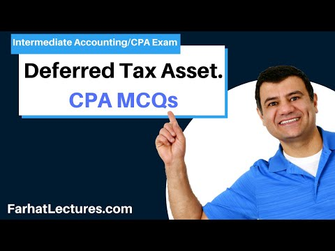 Deferred Tax Assets CPA Exam - YouTube