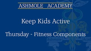 video: Join in with free online PE lessons: fitness components