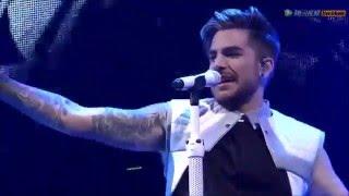 Adam Lambert - Intro + Evil in the Night - Shanghai 2016