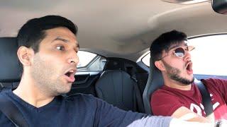 DRIVING ZAID ALI'S NEW CAR!