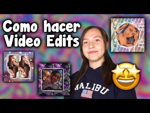 COMO HACER VIDEOEDITS ♥️ - Evelyn Rangel