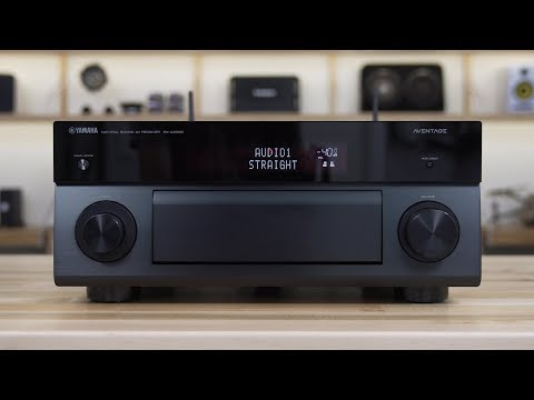Yamaha 2018 Aventage home theater receivers | Crutchfield video