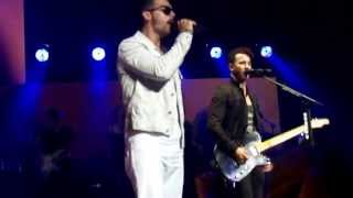 Jonas Brothers - First Time (live in Cleveland, July 16th, 2013)