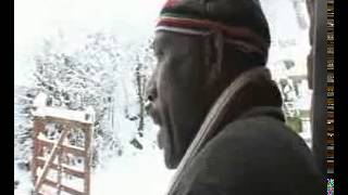 African Man Sees Snow For The Very First Time