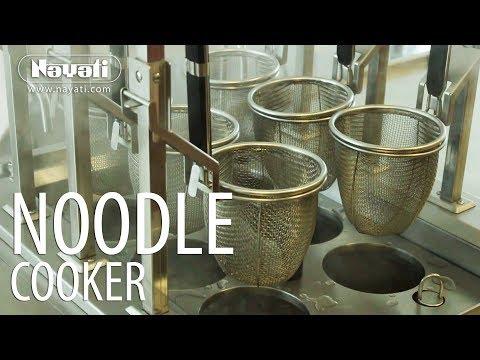 video 1, Cuiseur à pâtes 40L avec double relevage