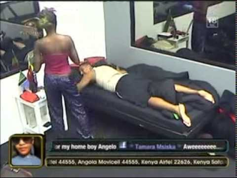 Beverly helping out Bimp- Big Brother Africa The Chase