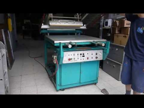 Máquina semi-automática de Screen