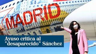 """Ayuso critica que el """"desaparecido"""" Sánchez utilice los medios con """"fines electoralistas"""""""