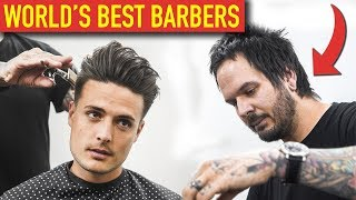BEST BARBERS IN THE WORLD | AndrewDoesHair | Mens Haircut & Hairstyle Ep. 3