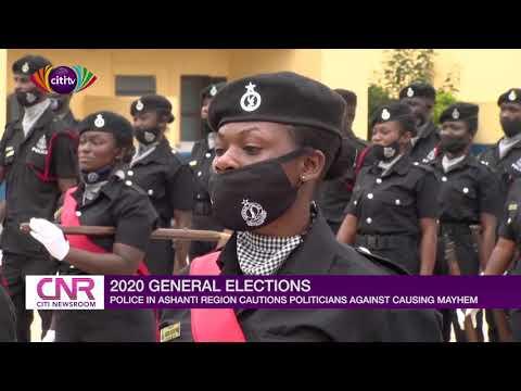 Ashanti Region police cautions politicians against causing mayhem | Citi Newsroom