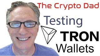 Tron (TRX) Mainnet Wallet Update