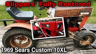 Slippers' Fully Restored 1969 Sears Custom 10XL Tractor