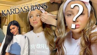 a Kardashian makeup artist beats my new face! (not clickbait)