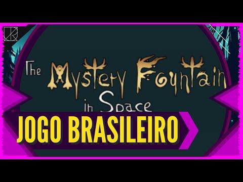 Jogo espacial BRASILEIRO que PROMETE! - The Mystery Fountain in Space | Comentando com a Gamedev