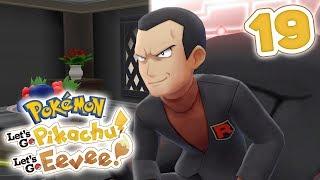 How To Beat Gym Leader Giovanni   Pokémon Let's Go Pikachu! & Let's Go Eevee! Walkthrough - Part 19