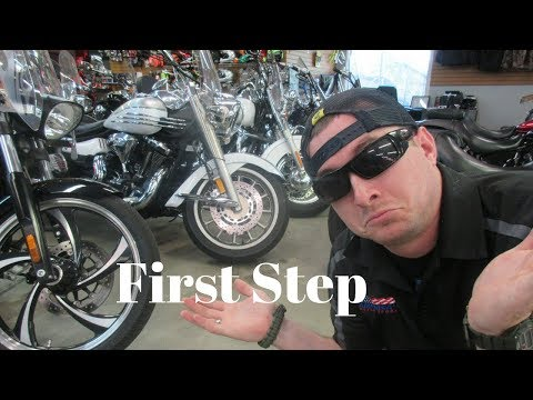 How to buy your first motorcycle - THE RIGHT WAY step 1